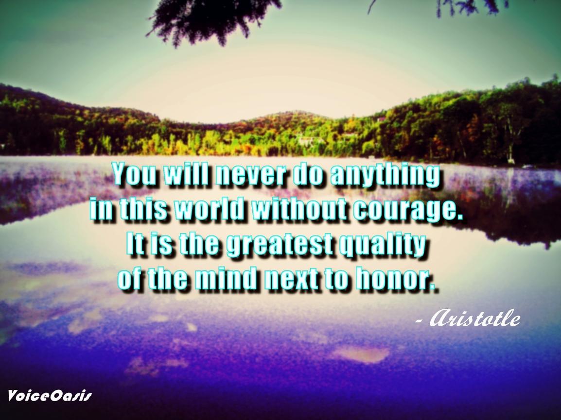 Aristotle Quote - April 7, 2016