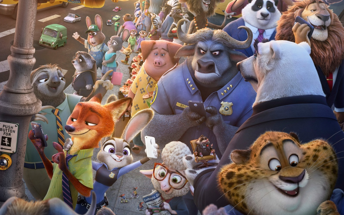 Zootopia characters - Bing image
