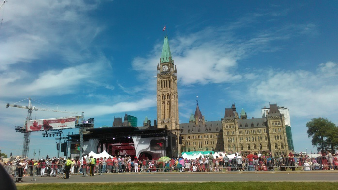 Canada Day 2016 at Parliament Hill