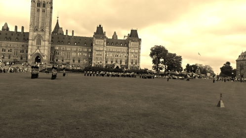 Parliament Hill - Changing of the Guard