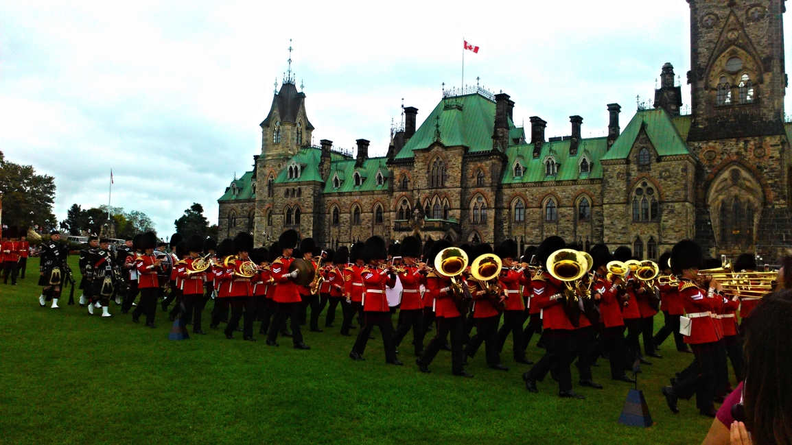 Changing of the Guard: Your calling in Ottawa this summer