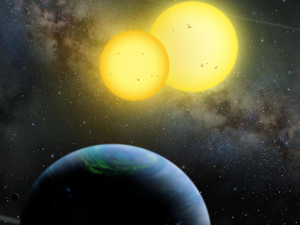 """A Search for Habitable Planets"" (Kepler, 2009) Image credit: Lynette Cook (Nasa on The Commons)"