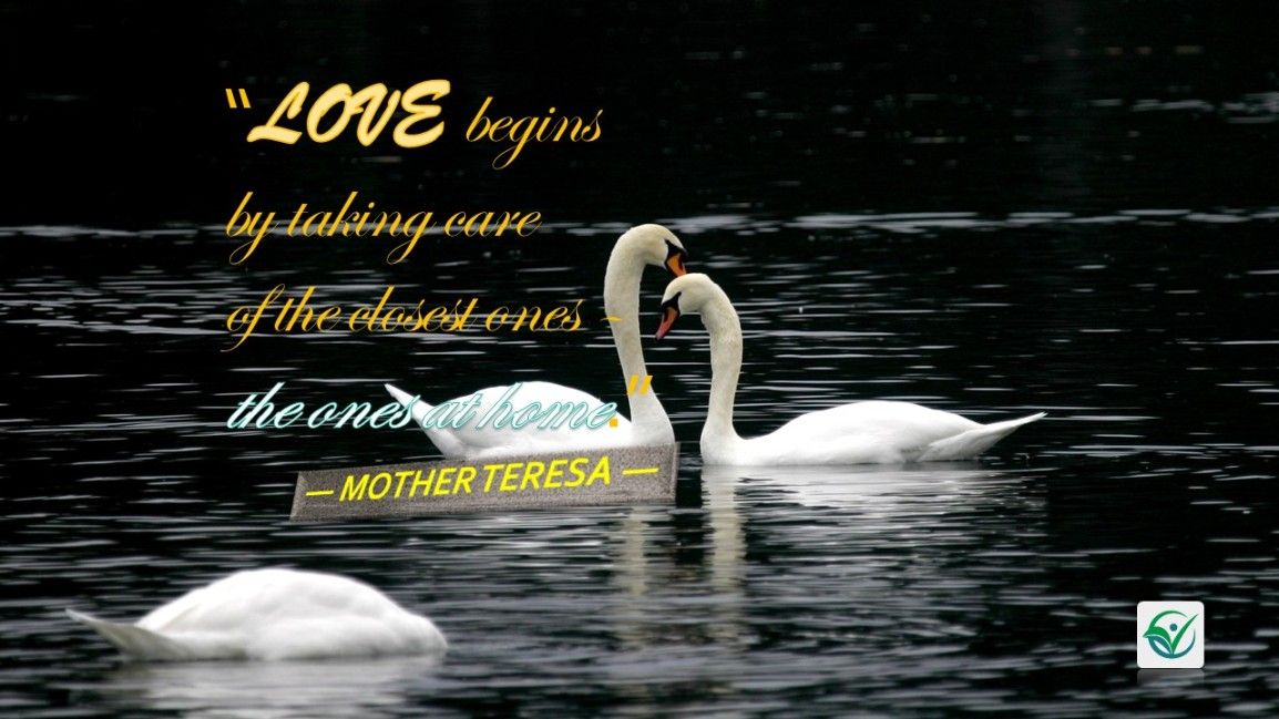 #QuoteoftheDay: True love starts athome