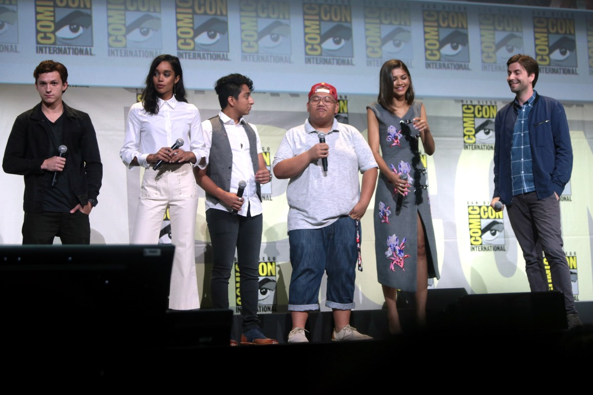 Spiderman Homecoming - Partial cast